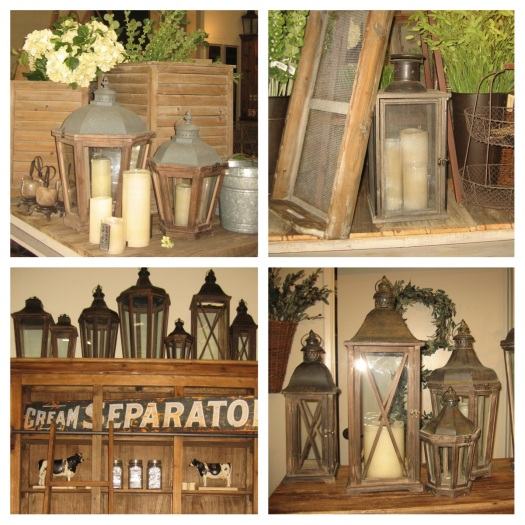 lanterns instore
