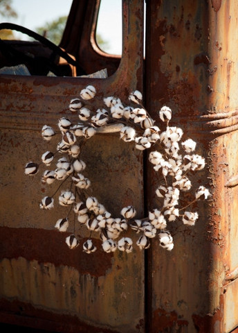 cotton-wreath