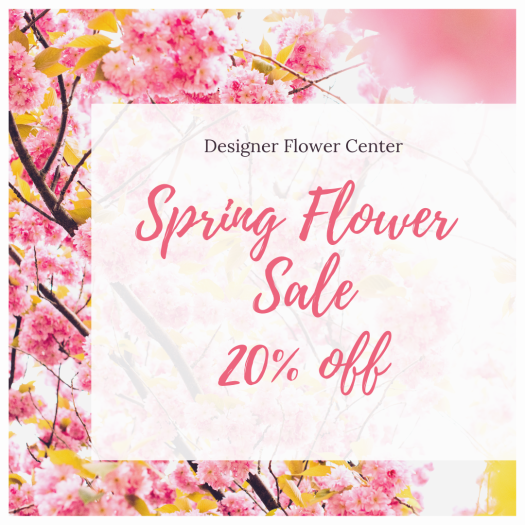 Spring Time Flower Sale 20 off.PNG