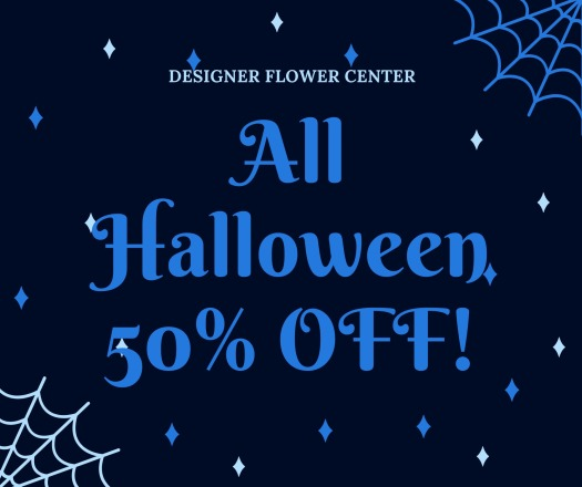 Halloween Sale 15-50 off
